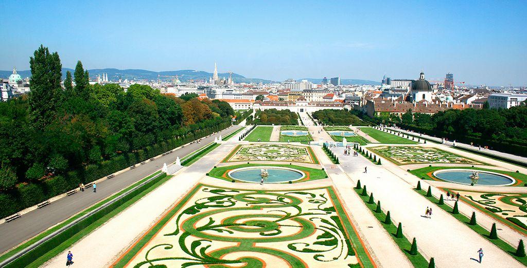 Bienvenido a la majestuosa Viena