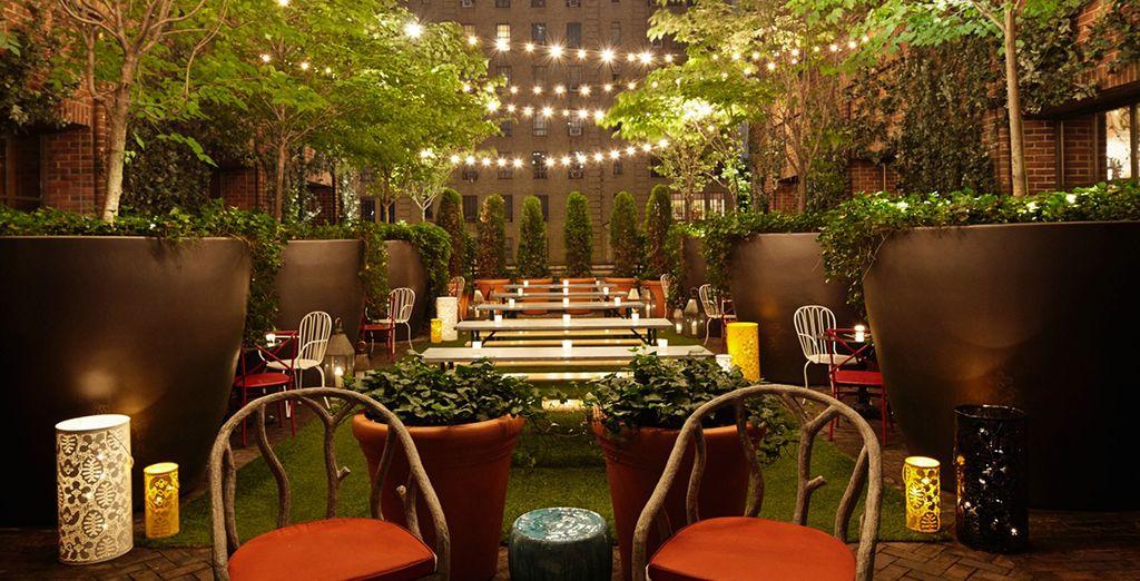 El Hotel Hudson 4* New York le sorprenderá en cada uno de sus detalles