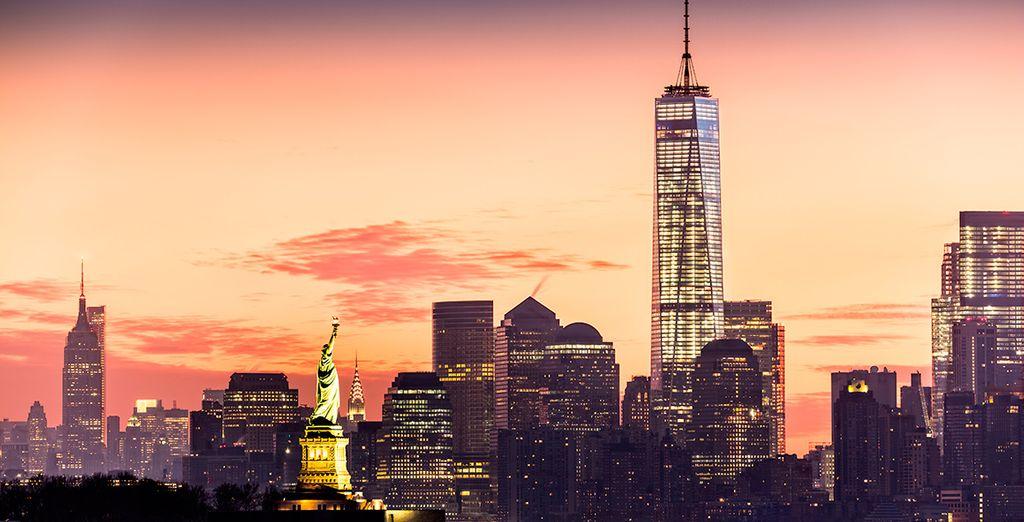 Descubra la hermosa experiencia de descubrir Nueva York, la ciudad que nunca duerme