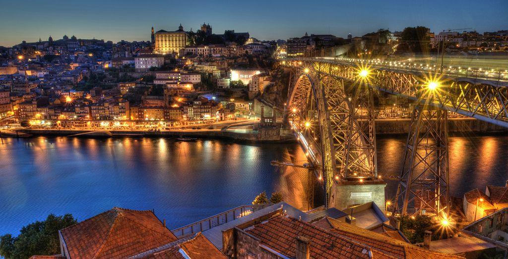 Deléitese con las bonitas panorámicas de Porto