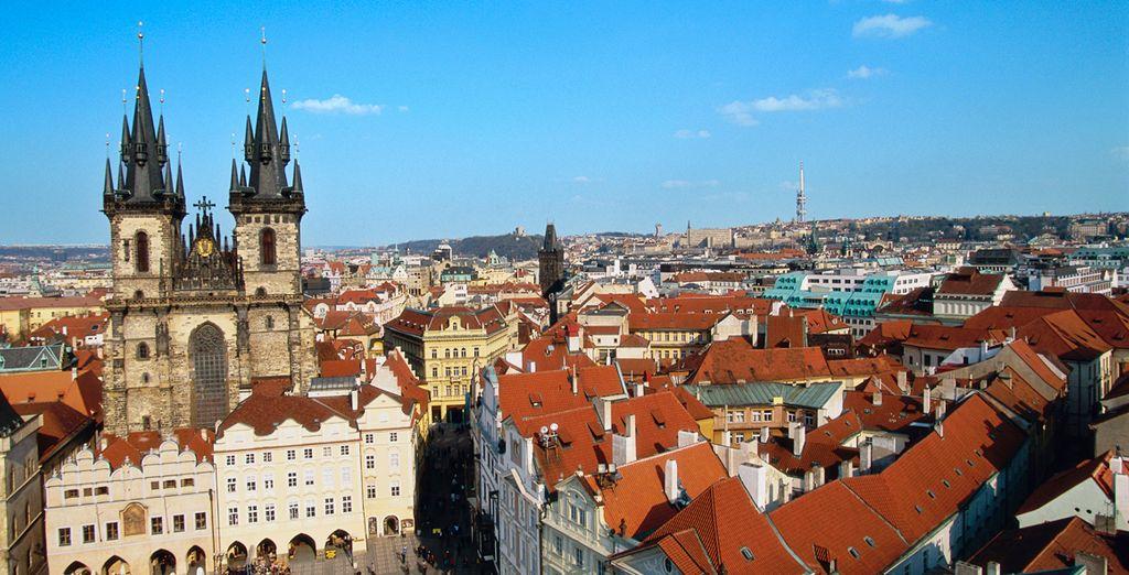 Déjese seducir por la mágica ciudad de Praga