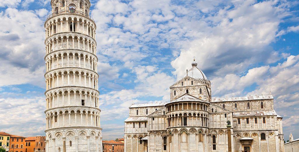 Visite la famosa ciudad de Pisa