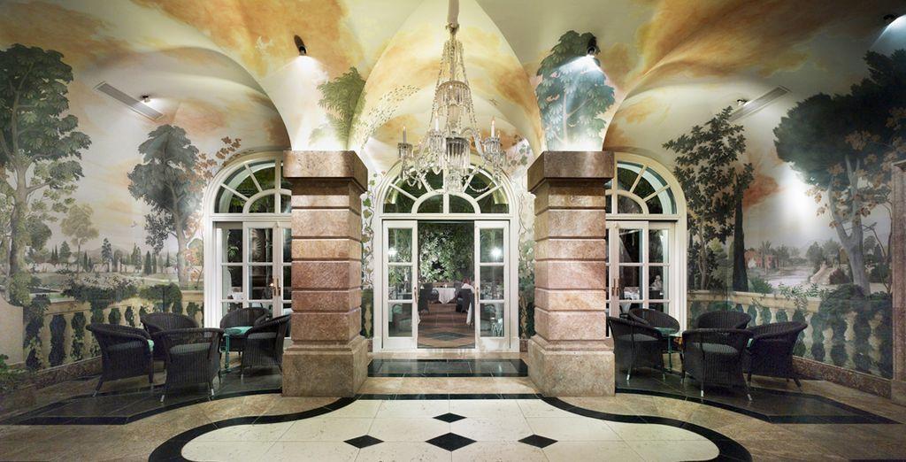 Un ambiente de completo lujo y sofisticación