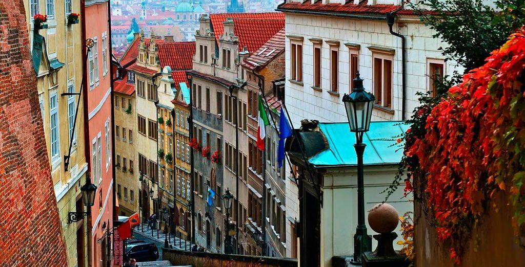 Piérdase por las callejuelas de Praga