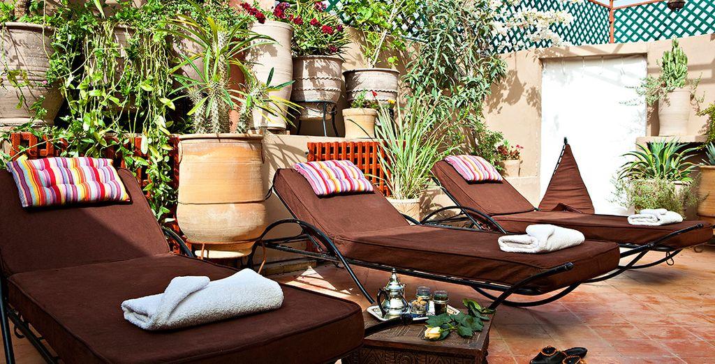 Excelentes terrazas donde disfrutar del descanso