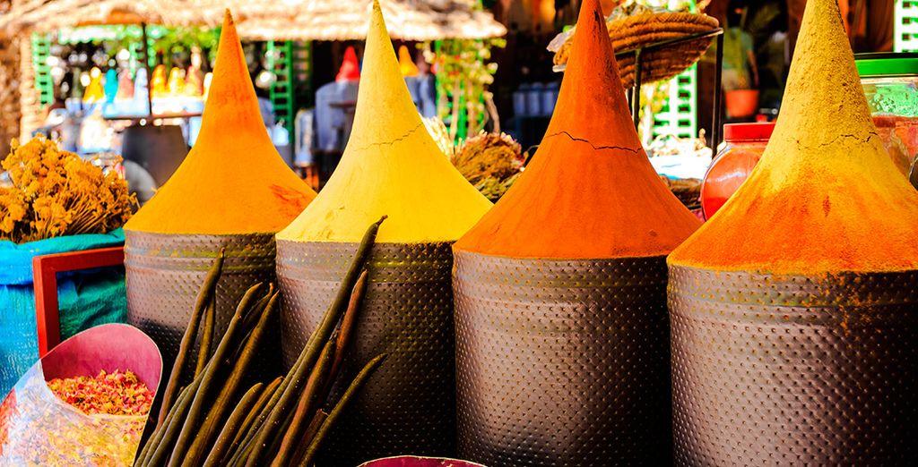 Aromas, colores y sabores...
