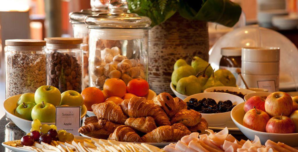 Empieza el día con un completo desayuno
