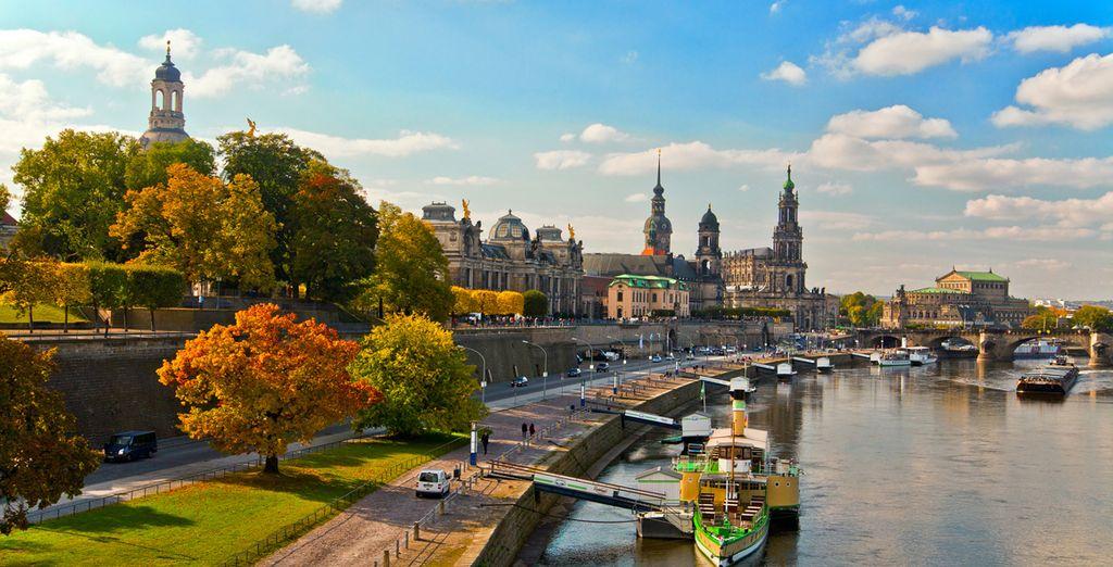 Conocida como la Florencia del Elba, la ciudad de Dresde