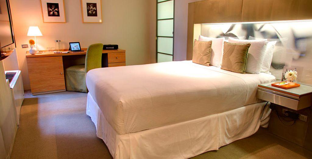 Cálidas y confortables estancias