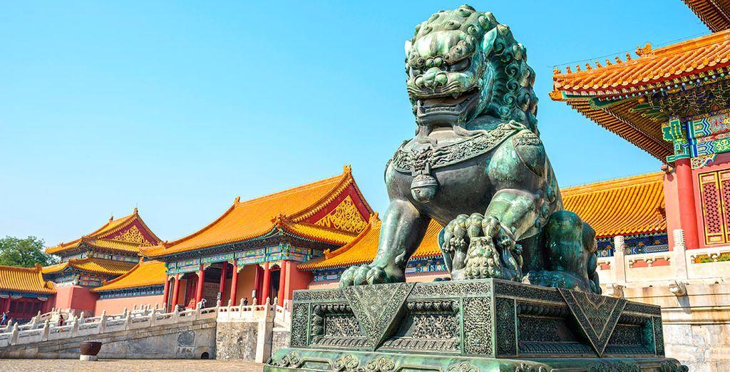La Ciudad Prohibida fue el palacio imperial chino desde la dinastía Ming hasta el final de la dinastía Qing