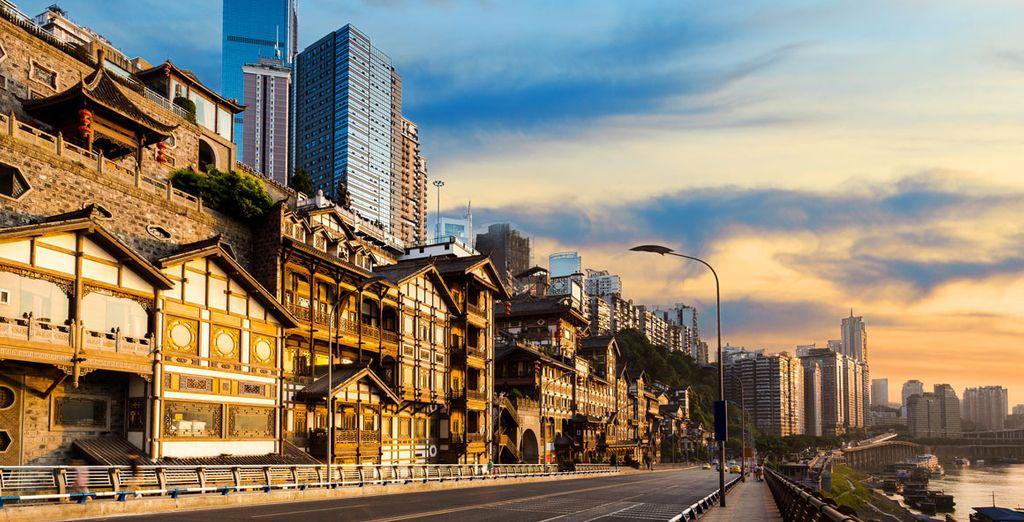 Su siguiente destino será la ciudad de Chongqing