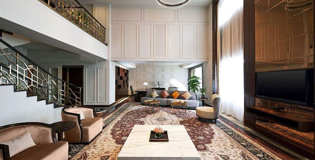 En Xian se alojará en el Sheraton Xi'an North City Hotel 5*