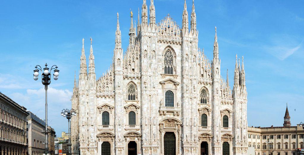 Inspírese a los pies del majestuoso Duomo de Milán