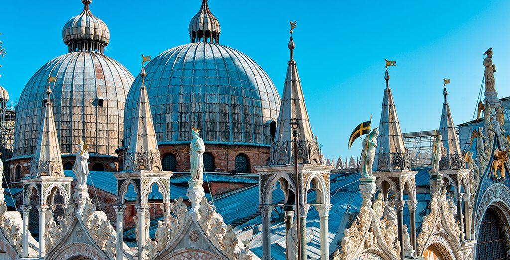 La bella Basílica de San Marcos