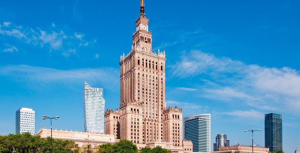 Una ciudad con arquitectura imponente