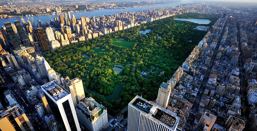 Pasea por Central Park, el pulmón de Nueva York