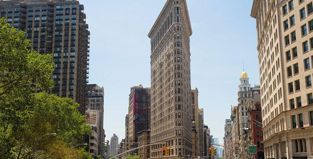 El edificio Flatiron es uno de los más emblemáticos de la ciudad