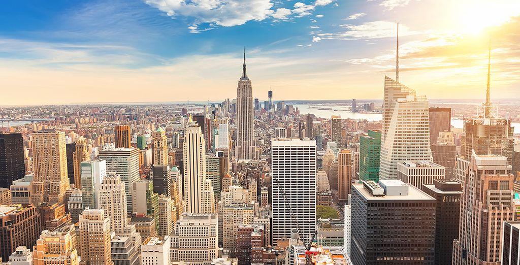 Nueva york, la ciudad con el skyline más espectacular del mundo