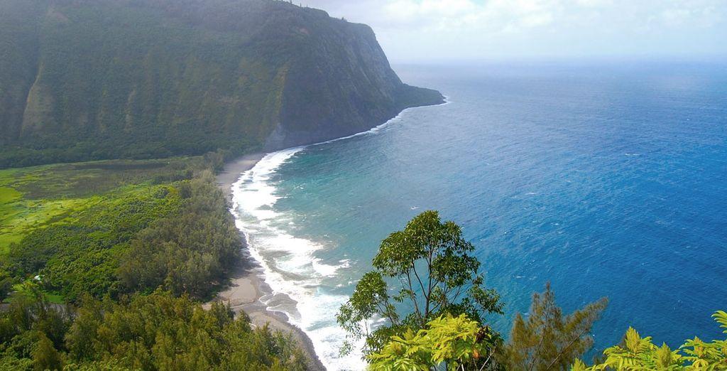 Big Island ofrece unos de los paisajes más interesantes de Hawaii, playas únicas y vegetación exuberante