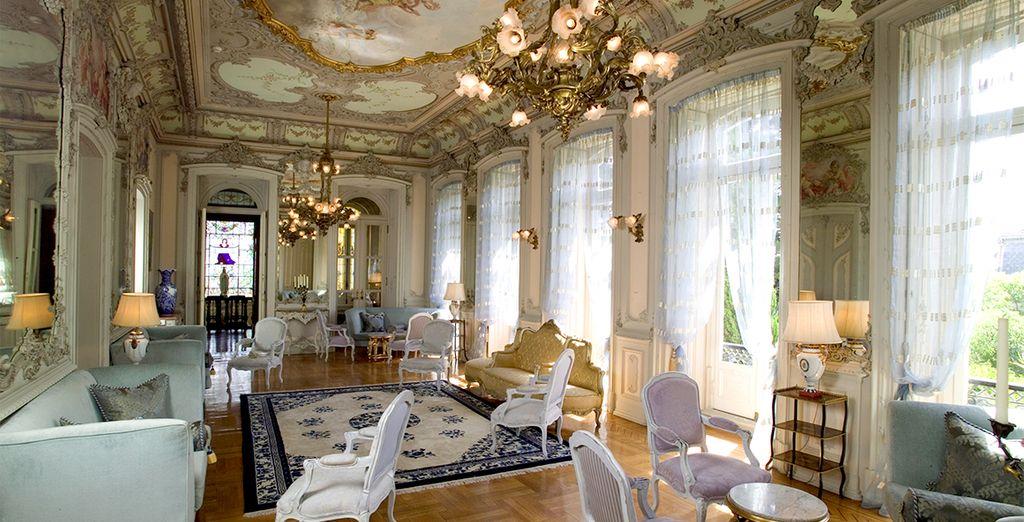 Un maravilloso palacio...