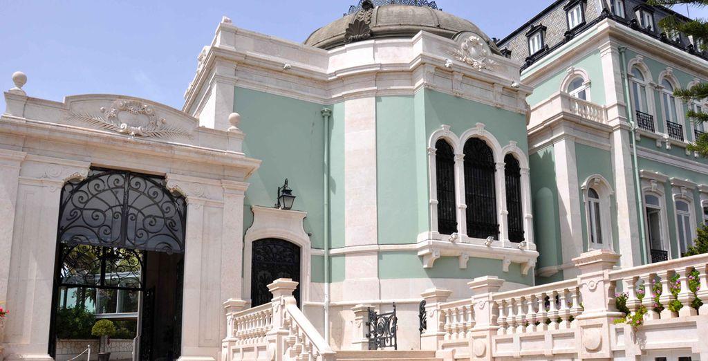 Un elegante hotel en Lisboa