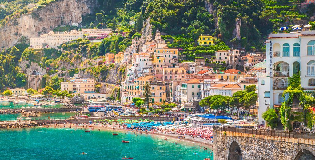 Un recorrido por la Costa Amalfitana