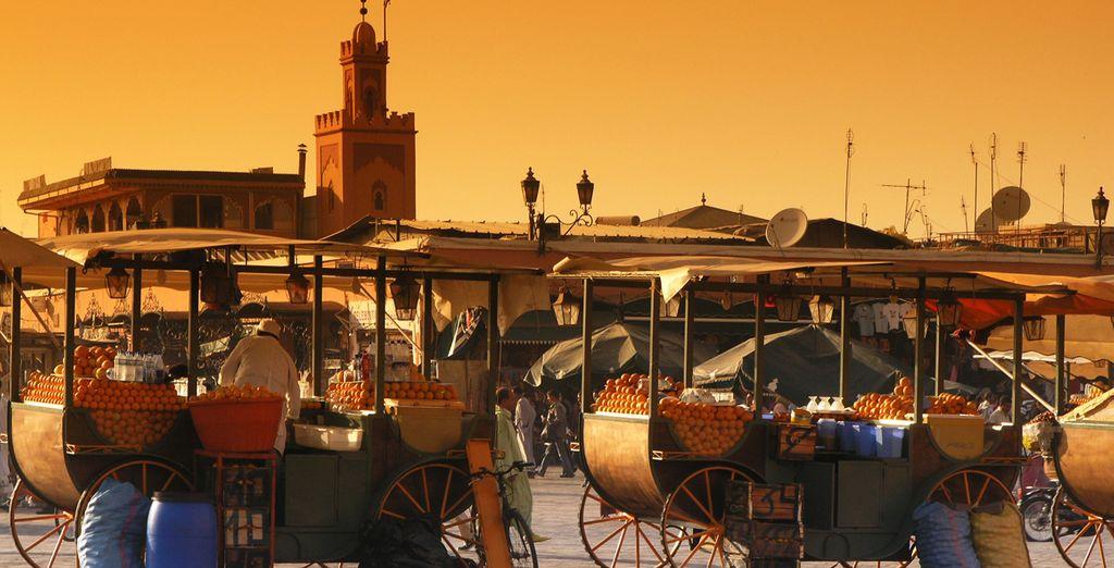Marrakech desprende sensualidad y pasión