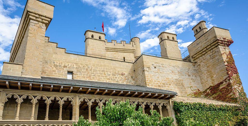 El castillo de Olite fue vivienda de reyes en otro tiempo