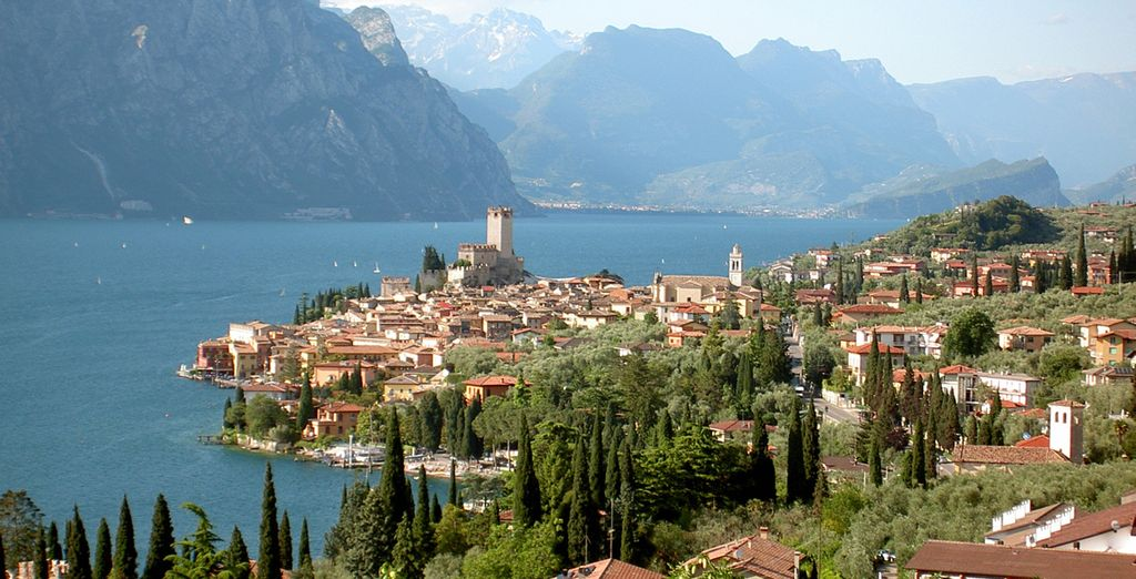 Contemplarás la belleza del Lago di Garda desde Sirmione