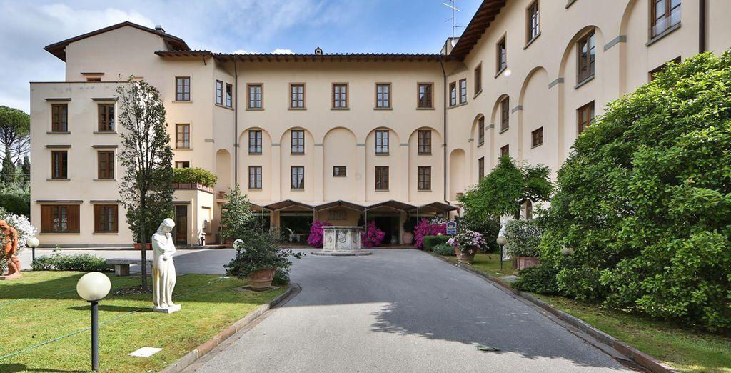 Tu estancia en Florencia será en el Hotel Villa Gabriele D´Annunzio 4*