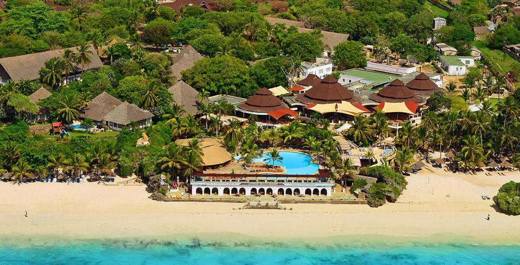 Bienvenido al Hotel Leopard Beach Resort & Spa, a partir de este momento comienzan tus vacaciones en Kenia