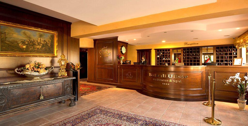 Baia Ulisse Wellness & Spa 4*, uno de los alojamientos que podrás escoger en Agrigento