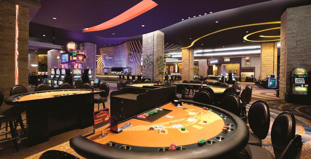 Pásalo en grande en el casino