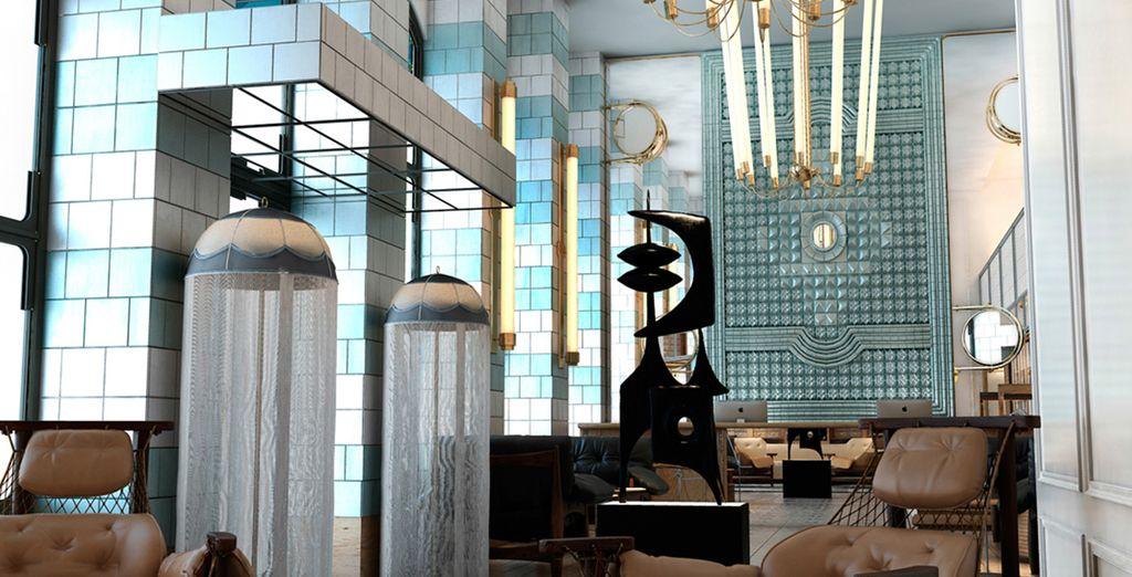 Un hotel elegante y sofisticado