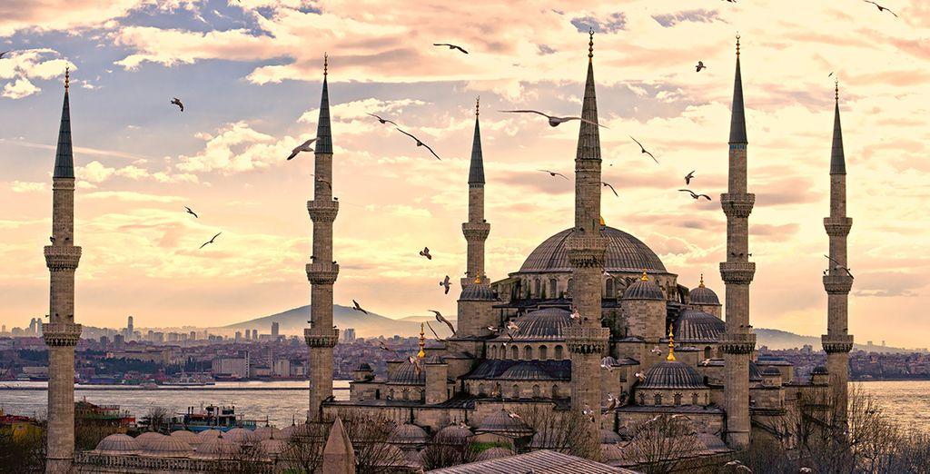 No dejes escapar la oportunidad de visitar La Mezquita Azul