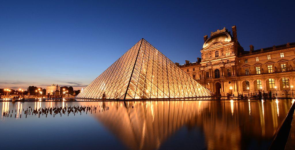 Visita los mejores museos de la capital, como el Louvre