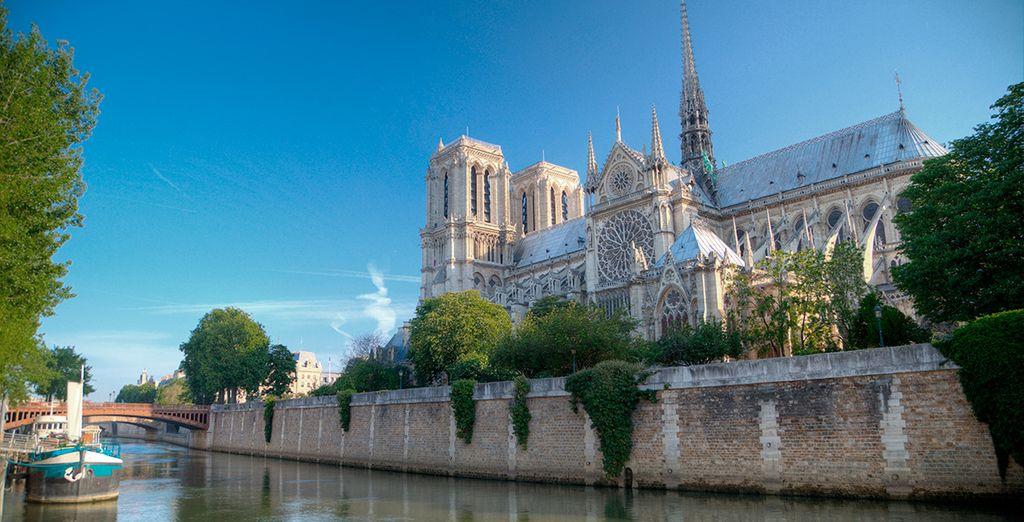 Escápate a la siempre sorprendente París