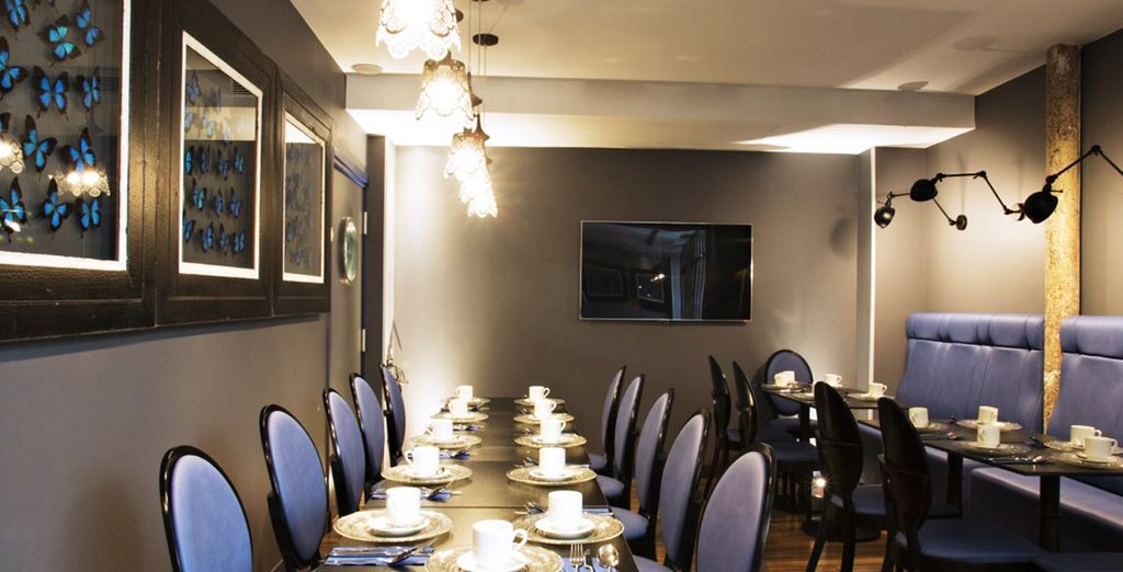 Un restaurante de lujo donde probar ricos platos