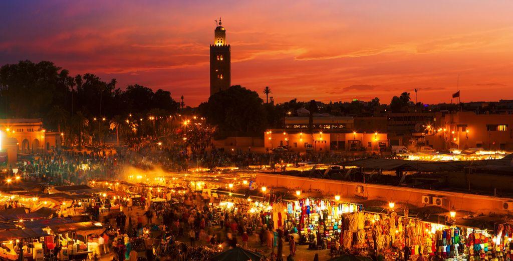 Marrakech, una ciudad llena de encanto