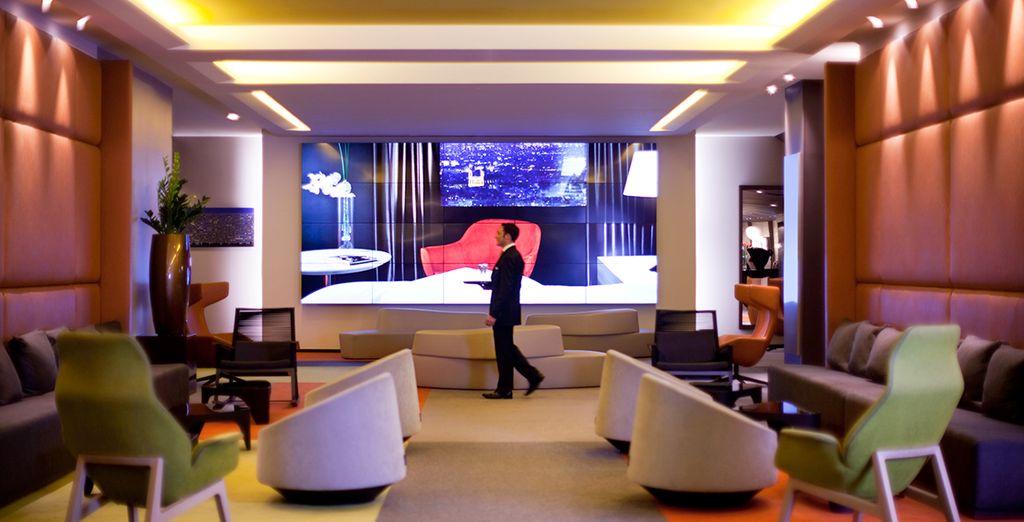 Bienvenido al hotel Pullman Paris Montparnasse 4*
