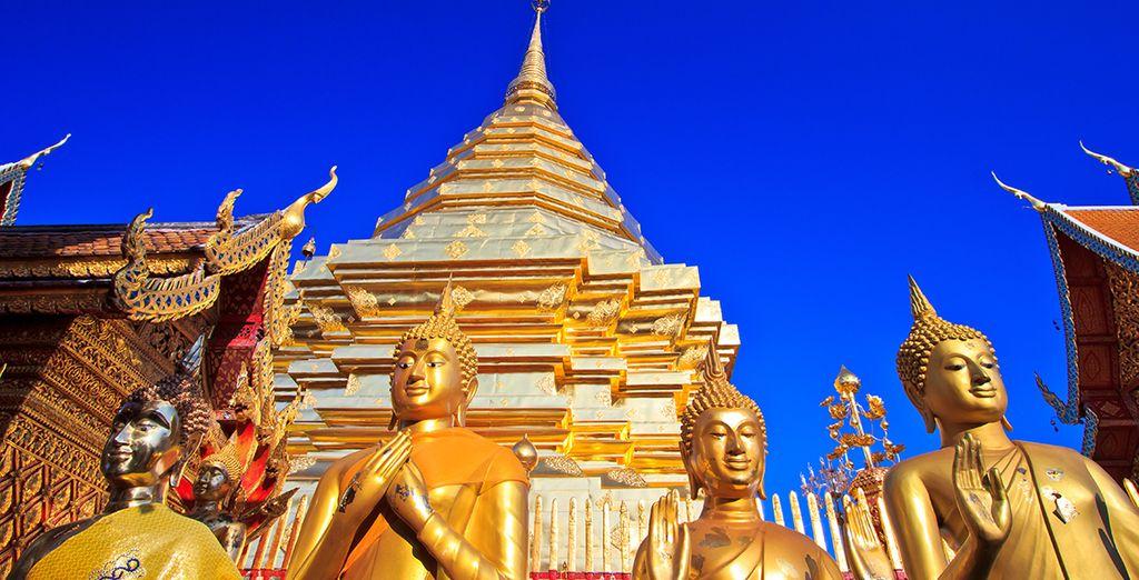 Tu primera parada, Chiang Mai, centro cultural del país