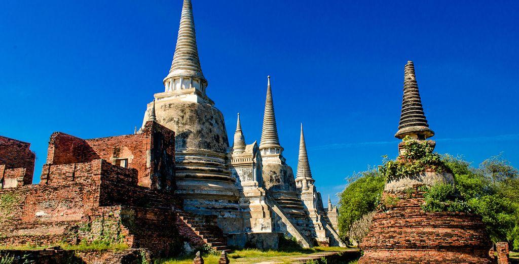 Bienvenido al Parque Histórico de Ayutthaya, en el antiguo reino de Siam