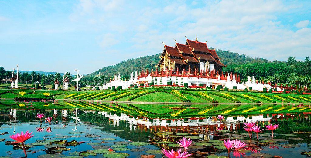 Maravíllate con los alrededores de Chiang Mai