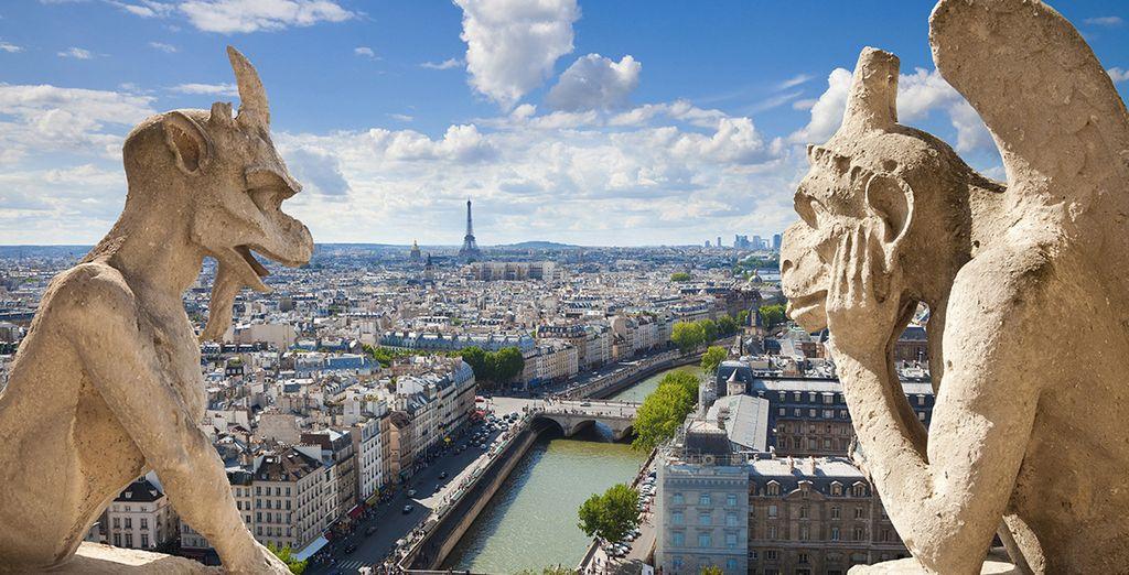 Las vistas panorámicas de París son espectaculares