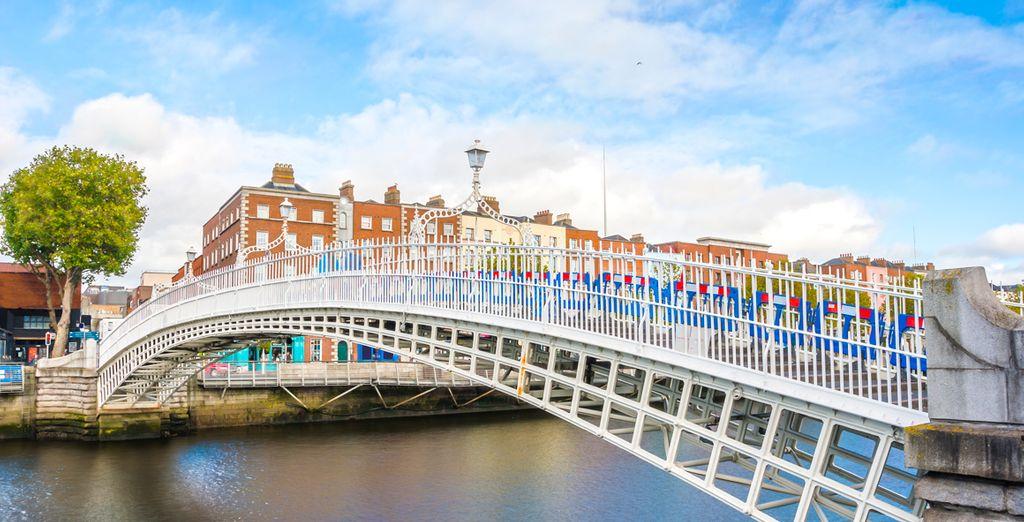 Descubre la magnífica capital irlandesa a ambos lados del río Liffey