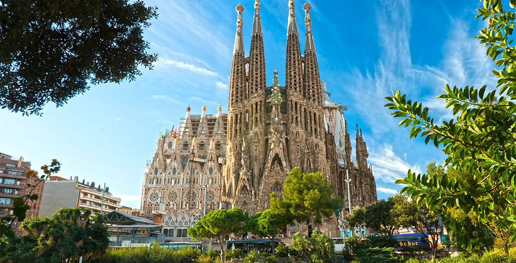 No puedes perderte la obra inacabada de Gaudí, la Sagrada Familia