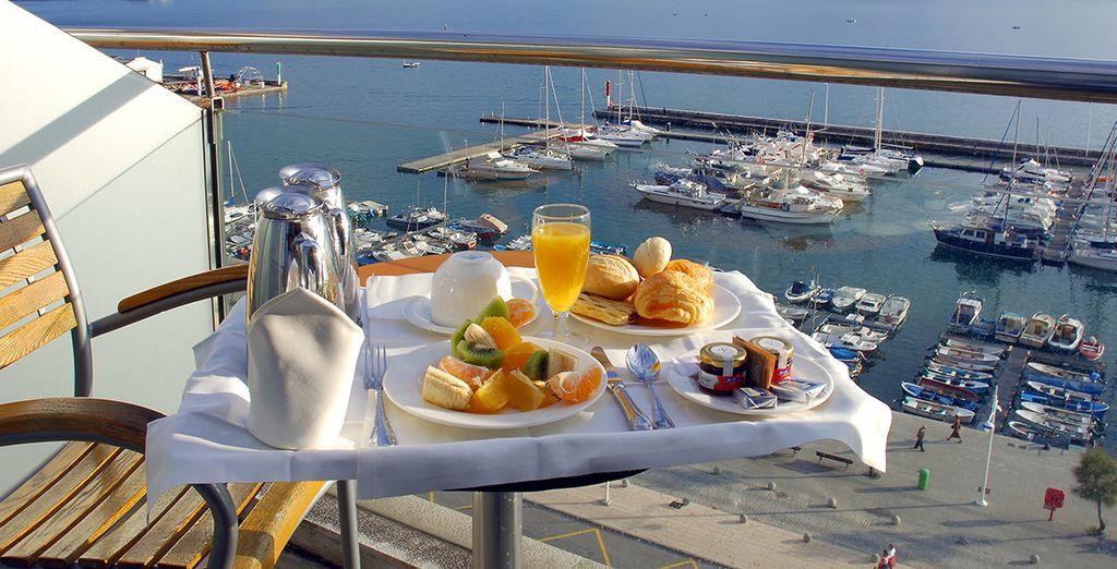 Vincci Puertochico 4* - hotel con vista al mar en Santander