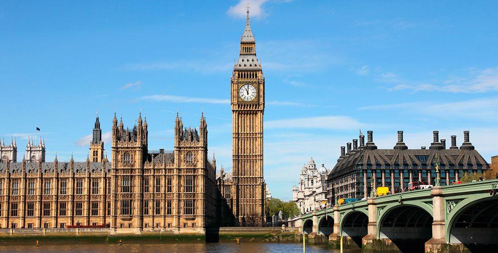 Visita el mítico Big Ben