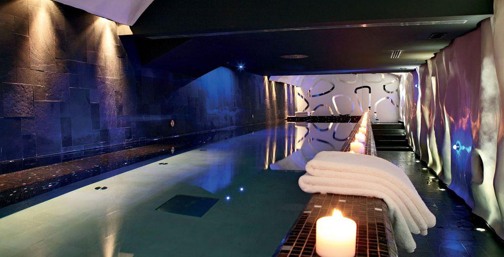 Mímate en el spa con algún masaje o tratamiento