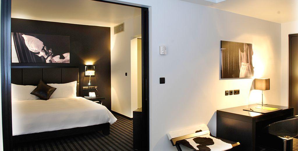 Alójate en el hotel Be Manos 4*, en una Habitación Deluxe en el centro de la ciudad